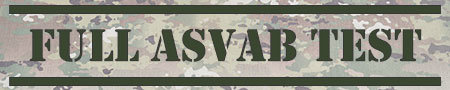Full ASVAB Test Banner