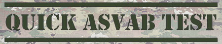 Quick ASVAB Test Banner